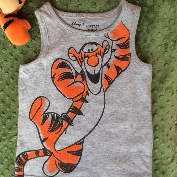 Disney Other - Disney Child's Tigger Soft Tank
